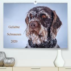 Geliebte Schnauzen 2020 (Premium, hochwertiger DIN A2 Wandkalender 2020, Kunstdruck in Hochglanz) von wuffclick-pic