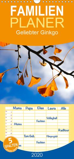Geliebter Ginkgo – Familienplaner hoch (Wandkalender 2020 , 21 cm x 45 cm, hoch) von Jäger,  Anette