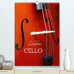 Geliebtes Cello (Premium, hochwertiger DIN A2 Wandkalender 2021, Kunstdruck in Hochglanz) von Jäger,  Anette/Thomas