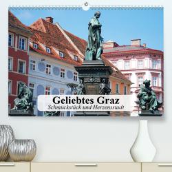 Geliebtes Graz. Schmuckstück und Herzensstadt (Premium, hochwertiger DIN A2 Wandkalender 2020, Kunstdruck in Hochglanz) von Stanzer,  Elisabeth