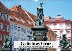 Geliebtes Graz. Schmuckstück und Herzensstadt (Wandkalender 2020 DIN A3 quer) von Stanzer,  Elisabeth