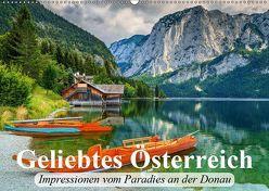 Geliebtes Österreich. Impressionen vom Paradies an der Donau (Wandkalender 2019 DIN A2 quer) von Stanzer,  Elisabeth