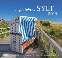 Geliebtes Sylt 2019 – DuMont Wandkalender – mit den wichtigsten Feiertagen – Format 38,0 x 35,5 cm von Bäck,  Christian, DUMONT Kalenderverlag