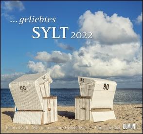 … geliebtes Sylt 2022 – DUMONT Wandkalender – mit den wichtigsten Feiertagen – Format 38,0 x 35,5 cm von Bäck,  Christian