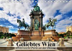 Geliebtes Wien. Österreichs Perle an der Donau (Tischkalender 2019 DIN A5 quer) von Stanzer,  Elisabeth