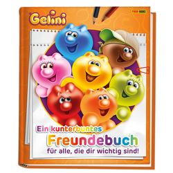 Gelini: Ein kunterbuntes Freundebuch für alle, die dir wichtig sind! von Panini, Zahradnicek,  Jörg