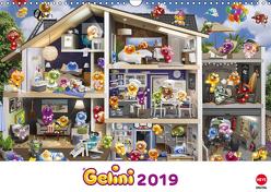 Gelini Posterkalender (Wandkalender 2019 DIN A3 quer) von Media GmbH,  KIDDINX
