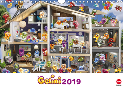Gelini Posterkalender (Wandkalender 2019 DIN A4 quer) von Media GmbH,  KIDDINX