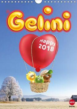 Gelini (Wandkalender 2018 DIN A4 hoch) von Media GmbH,  KIDDINX