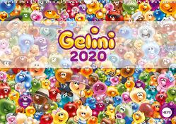 Gelini (Wandkalender 2020 DIN A3 quer) von Media GmbH,  KIDDINX