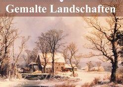 Gemalte Landschaften (Wandkalender 2018 DIN A2 quer) von Stanzer,  Elisabeth