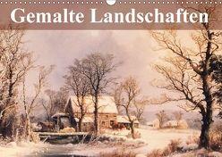 Gemalte Landschaften (Wandkalender 2018 DIN A3 quer) von Stanzer,  Elisabeth