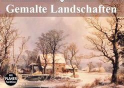 Gemalte Landschaften (Wandkalender 2019 DIN A2 quer) von Stanzer,  Elisabeth