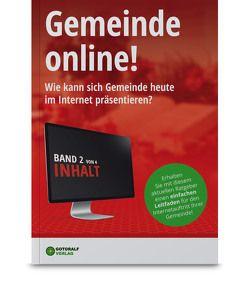 Gemeinde online! / Gemeinde online! – Band 2 (Inhalte) von Würtz,  Ralf