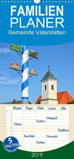 Gemeinde Vaterstetten – Familienplaner hoch (Wandkalender 2019 , 21 cm x 45 cm, hoch) von gro