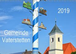 Gemeinde Vaterstetten (Wandkalender 2019 DIN A3 quer) von gro