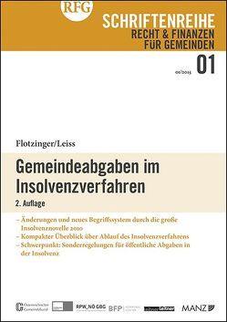 Gemeindeabgaben im Insolvenzverfahren von Flotzinger,  Franz, Leiss,  Walter