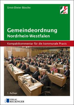 Gemeindeordnung für das Land Nordrhein-Westfalen von Bösche,  Ernst-Dieter