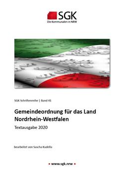 Gemeindeordnung für das Land Nordrhein-Westfalen von Kudella,  Sascha