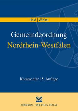 Gemeindeordnung Nordrhein-Westfalen von Held,  Friedrich W, Winkel,  Johannes