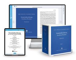 Gemeindeordnung Nordrhein-Westfalen – Print + Digital von Cronauge,  Ulrich, Knirsch,  Hanspeter, Paal,  Thomas, Rehn,  Erich, von Lennep,  Hans-Gerd, Wellmann,  Anne