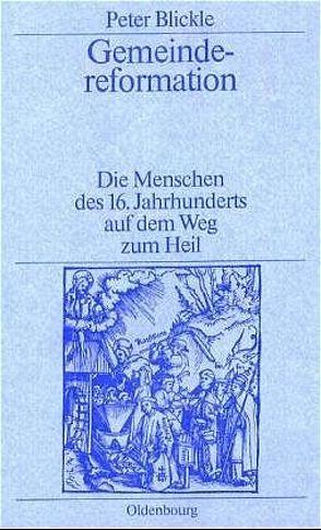 Gemeindereformation von Blickle,  Peter