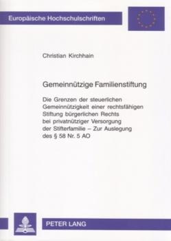 Gemeinnützige Familienstiftung von Kirchhain,  Christian