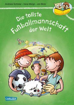 Gemeinsam lesen: Die tollste Fußballmannschaft der Welt (Neuausgabe) von Birck,  Jan, Margil,  Irene, Schlüter,  Andreas