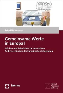 Gemeinsame Werte in Europa? von Nitschke,  Peter