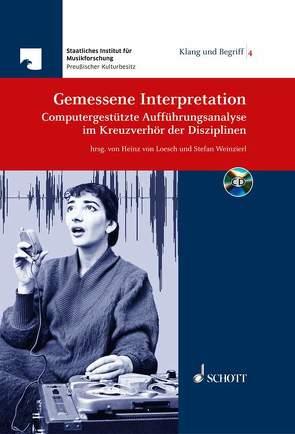 Gemessene Interpretation von Loesch,  Heinz von, Weinzierl,  Stefan