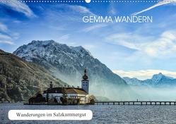 Gemma wandern – Wanderungen im Salzkammergut (Wandkalender 2020 DIN A2 quer) von Hauer,  Hannelore