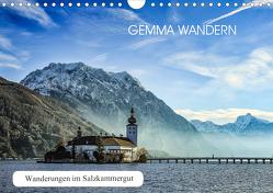 Gemma wandern – Wanderungen im Salzkammergut (Wandkalender 2020 DIN A4 quer) von Hauer,  Hannelore