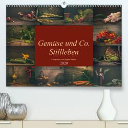 Gemüse und Co. Stillleben (Premium, hochwertiger DIN A2 Wandkalender 2020, Kunstdruck in Hochglanz) von Steudte photoGina,  Regina
