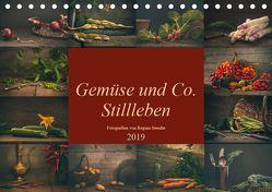 Gemüse und Co. Stillleben (Tischkalender 2019 DIN A5 quer) von Steudte photoGina,  Regina