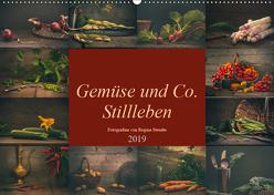 Gemüse und Co. Stillleben (Wandkalender 2019 DIN A2 quer) von Steudte photoGina,  Regina