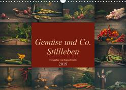Gemüse und Co. Stillleben (Wandkalender 2019 DIN A3 quer) von Steudte photoGina,  Regina