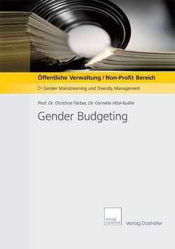 Gender Budgeting von Färber,  Christine, Hösl-Kulike,  Cornelia
