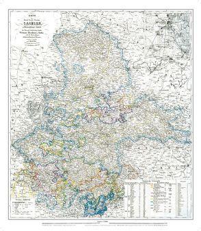 General-Karte der Provinz Sachsen, 1870/71 [Plano] von Handtke,  Friedrich, Rockstuhl,  Harald
