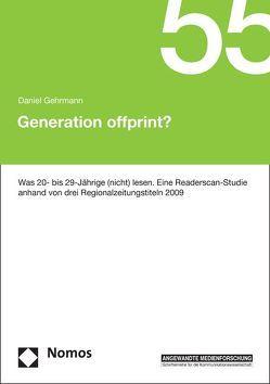 Generation offprint? von Gehrmann,  Daniel