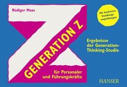 Generation Z für Personaler und Führungskräfte von Maas,  Rüdiger