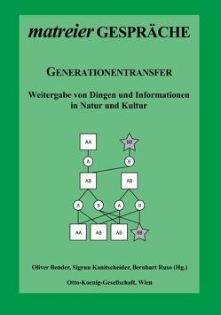 Generationentransfer von Bender,  Oliver, Kanitscheider,  Sigrun, Ruso,  Bernhart