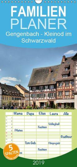 Gengenbach – romantisches Kleinod im Schwarzwald – Familienplaner hoch (Wandkalender 2019 , 21 cm x 45 cm, hoch) von Bartruff,  Thomas