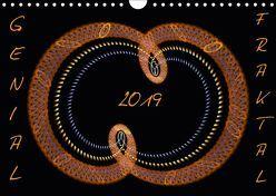 GENIAL FRAKTAL (Wandkalender 2019 DIN A4 quer) von r.gue.