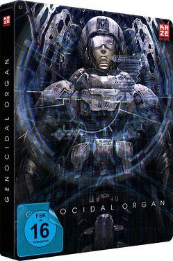Genocidal Organ – Project Itoh Trilogie Teil 3 – Steelbook (2 Disc) [DVD und Blu-ray Collector's Edition] von Murase,  Shuko