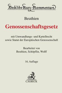 Genossenschaftsgesetz von Beuthien,  Volker, Schöpflin,  Martin, Wolff,  Reinmar