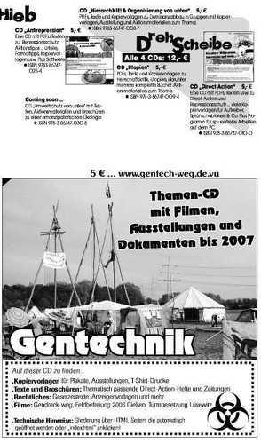 Gentechnik CD von Bergstedt,  Jörg