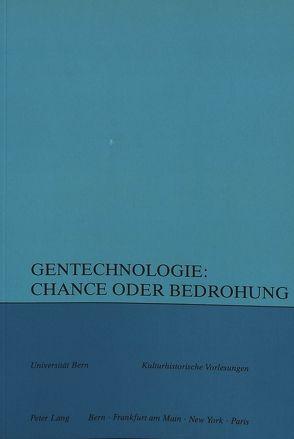 Gentechnologie von Braun, Richard, Svilar, Maja