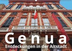 Genua, Entdeckungen in der Altstadt (Wandkalender 2018 DIN A2 quer) von J. Richtsteig,  Walter