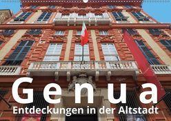 Genua, Entdeckungen in der Altstadt (Wandkalender 2019 DIN A2 quer)
