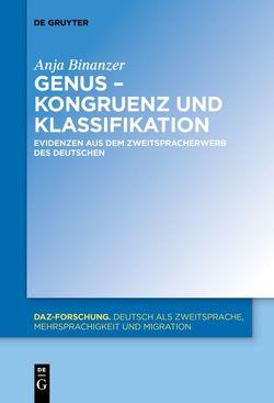 Genus – Kongruenz und Klassifikation von Binanzer,  Anja